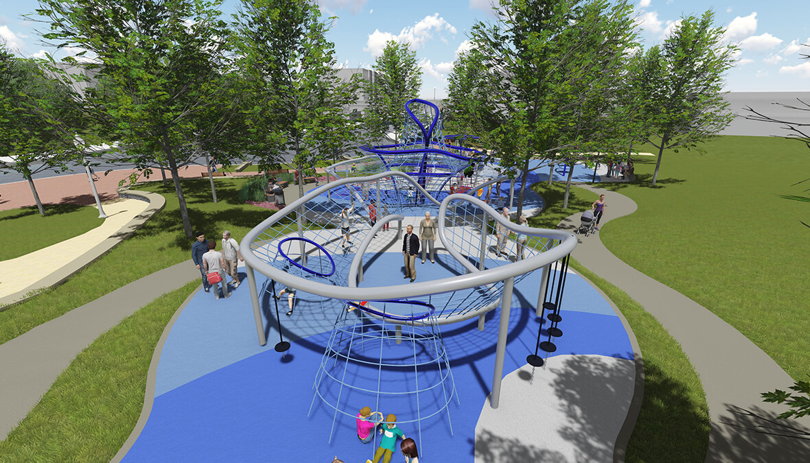 Indy Canal Walk Play Space