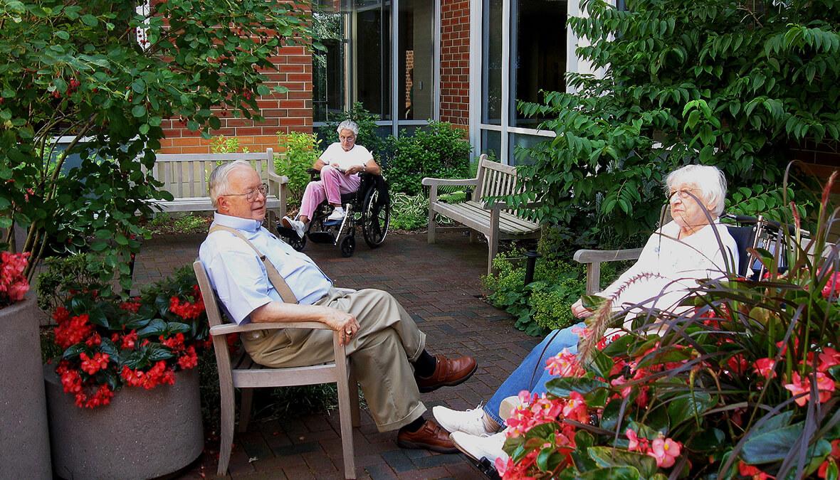 Marianjoy Rehab Garden