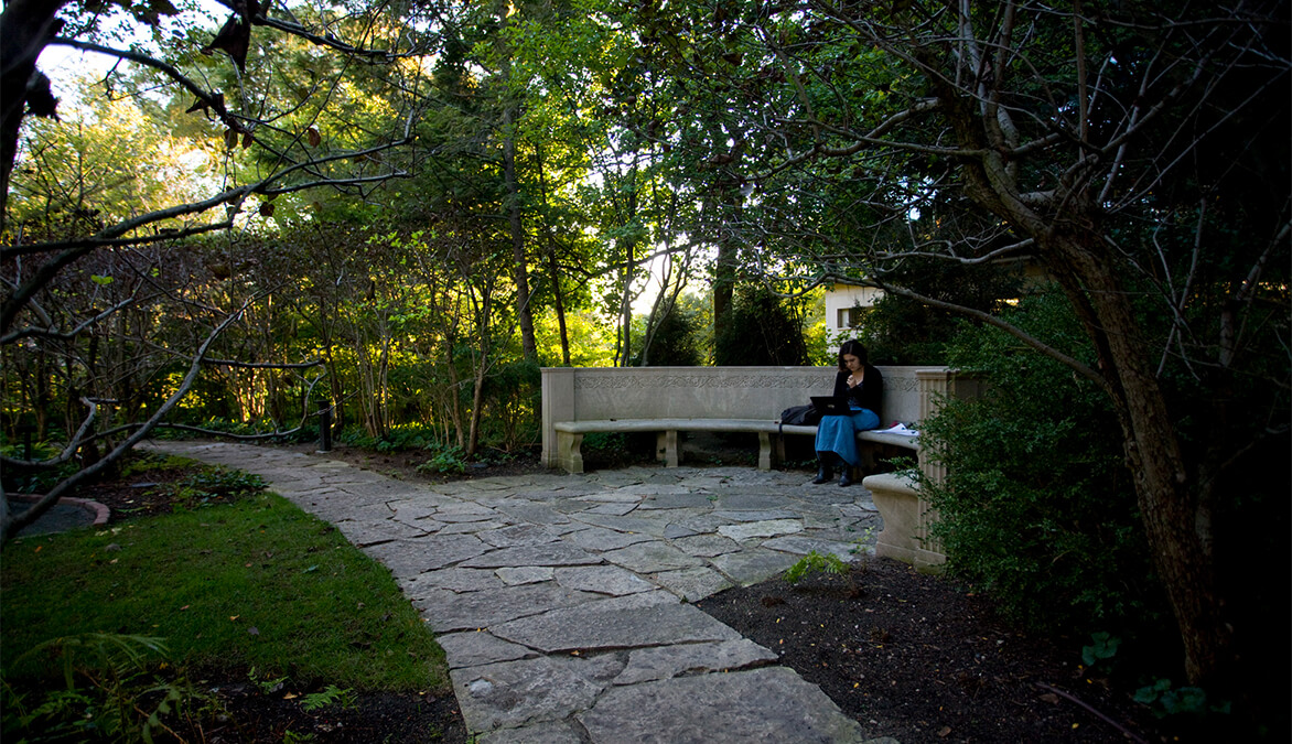 Northwestern U Shakespeare Garden